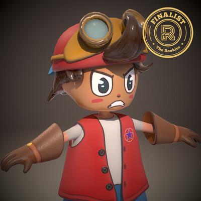 Kid Fury Main Character