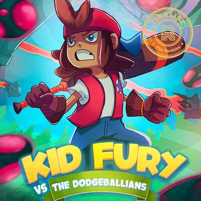 Kid Fury Poster & Trailer (Futuregames Game Project)