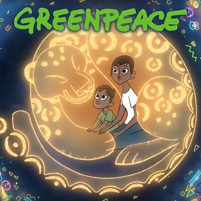 Ludo gavillet ludo gavillet artstation greenpeace 02