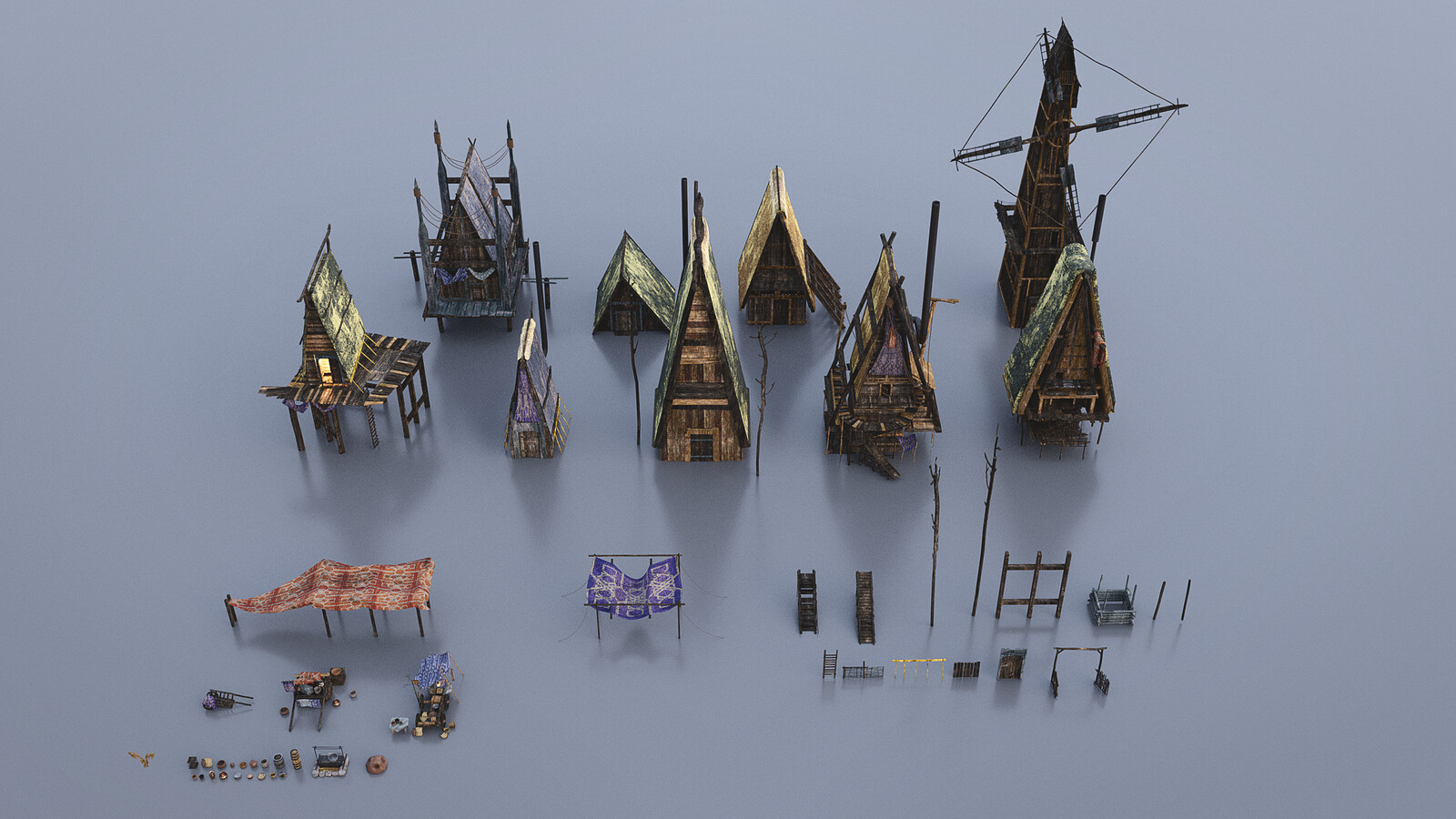 Fantasy Houses Kit