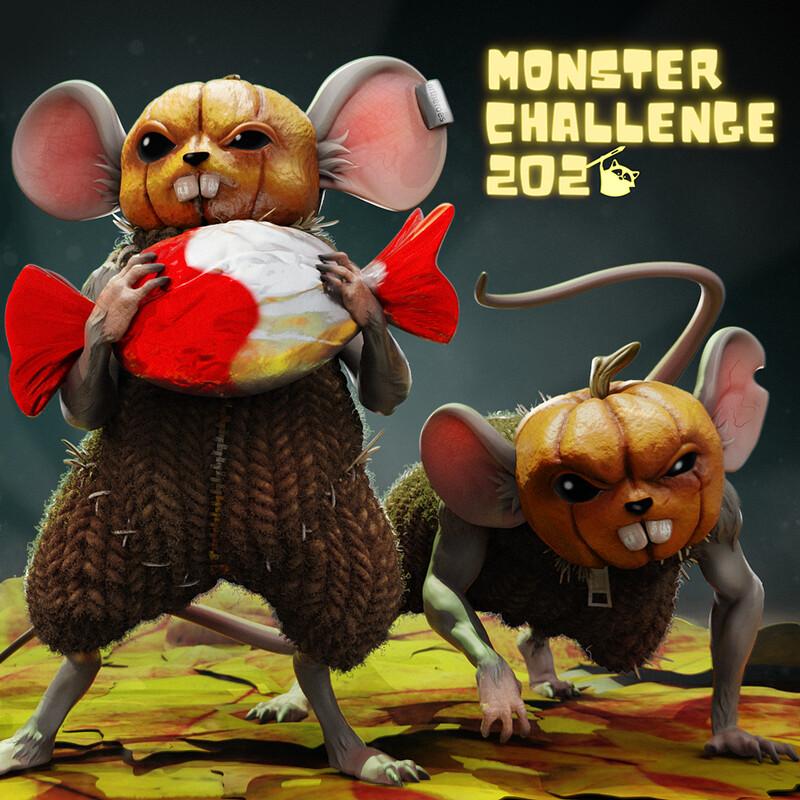 Halloween Heist - Monster Challenge 2020