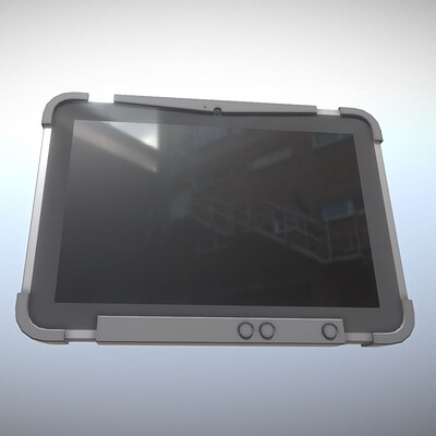 Dennis haupt 3dhaupt dennis haupt 3dhaupt robust tablet pc low poly modeled by 3dhaupt in blender 2 90 14 dd4