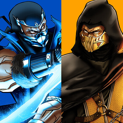 Joshua carvajal sub zero and scorpion thumbnail