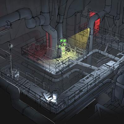 Duncan halleck utopiasyndrome tunnel design art