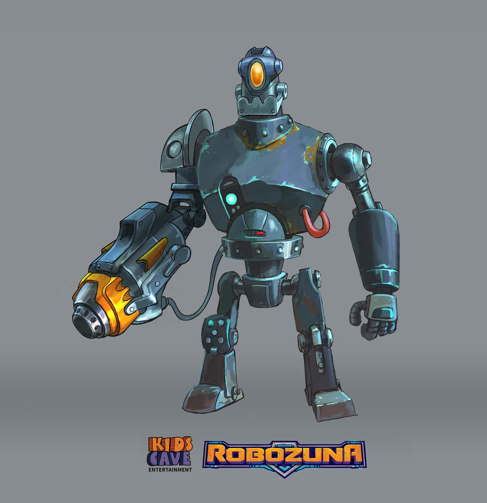 Robozuna Concepts Art