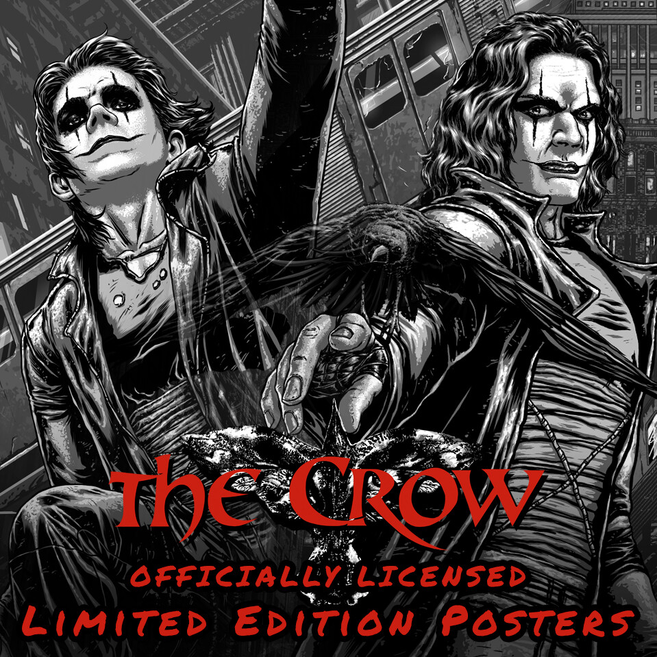 Officially Licensed - The Crow Posters + Behind The Scenes