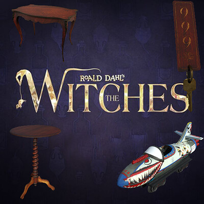 Props - The Witches