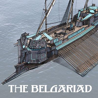 Belgariad - Cherek Warship