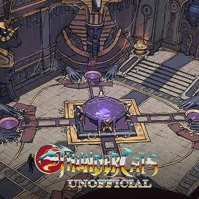 ThunderCats - Black Pyramid Mumm-ra's Tomb
