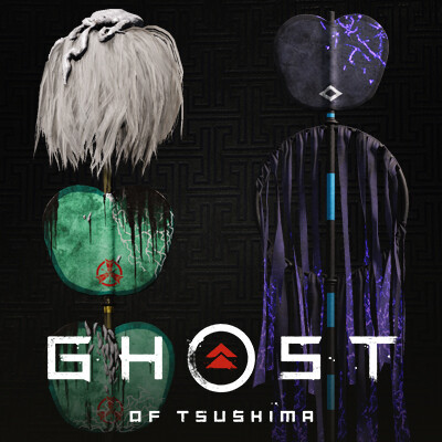 Ghost of Tsushima - Legends || Hunter Banners