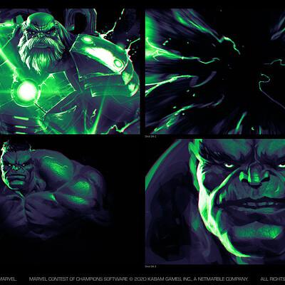 Charles chen ge charles chen ge immortal hulk storyboard 4
