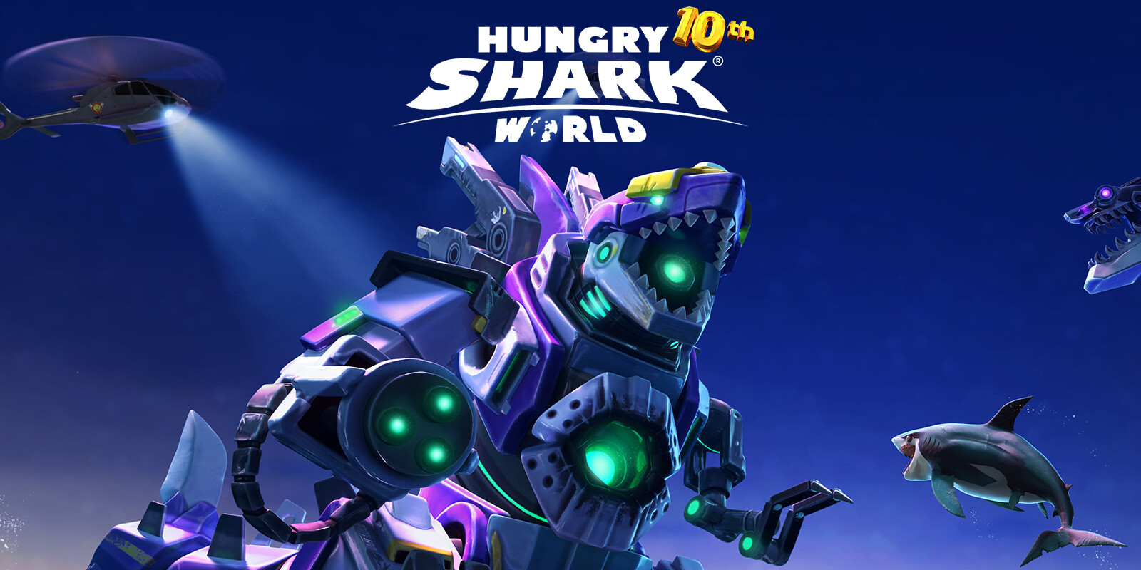 Hungry Shark World 10th Anniversary Update