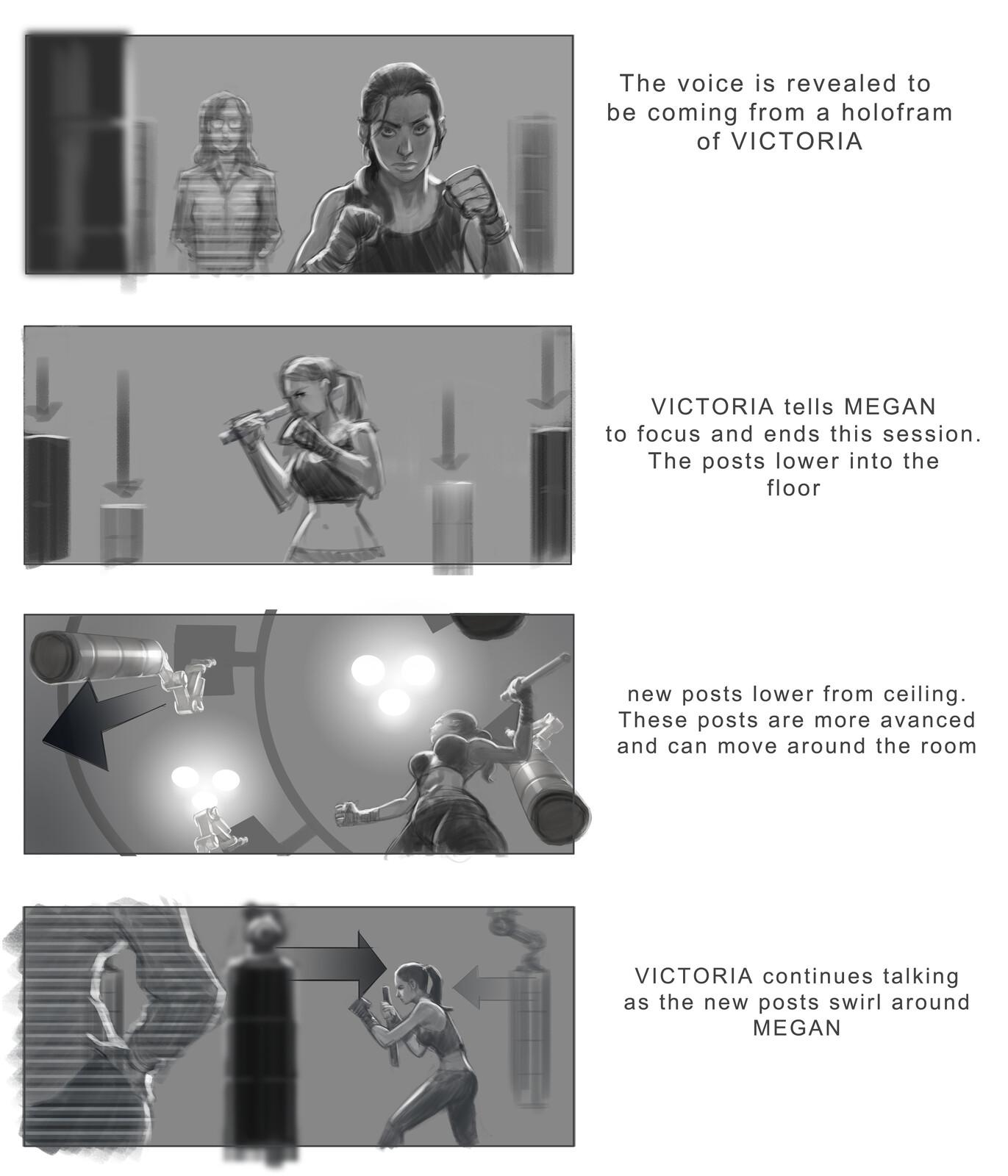 Cortex of Perception: Training sequence