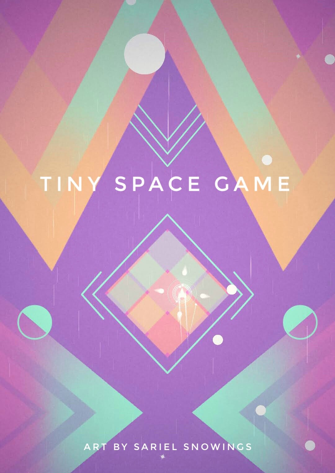 """""""Tiny Space Game"""" - Concept art for videogame"""