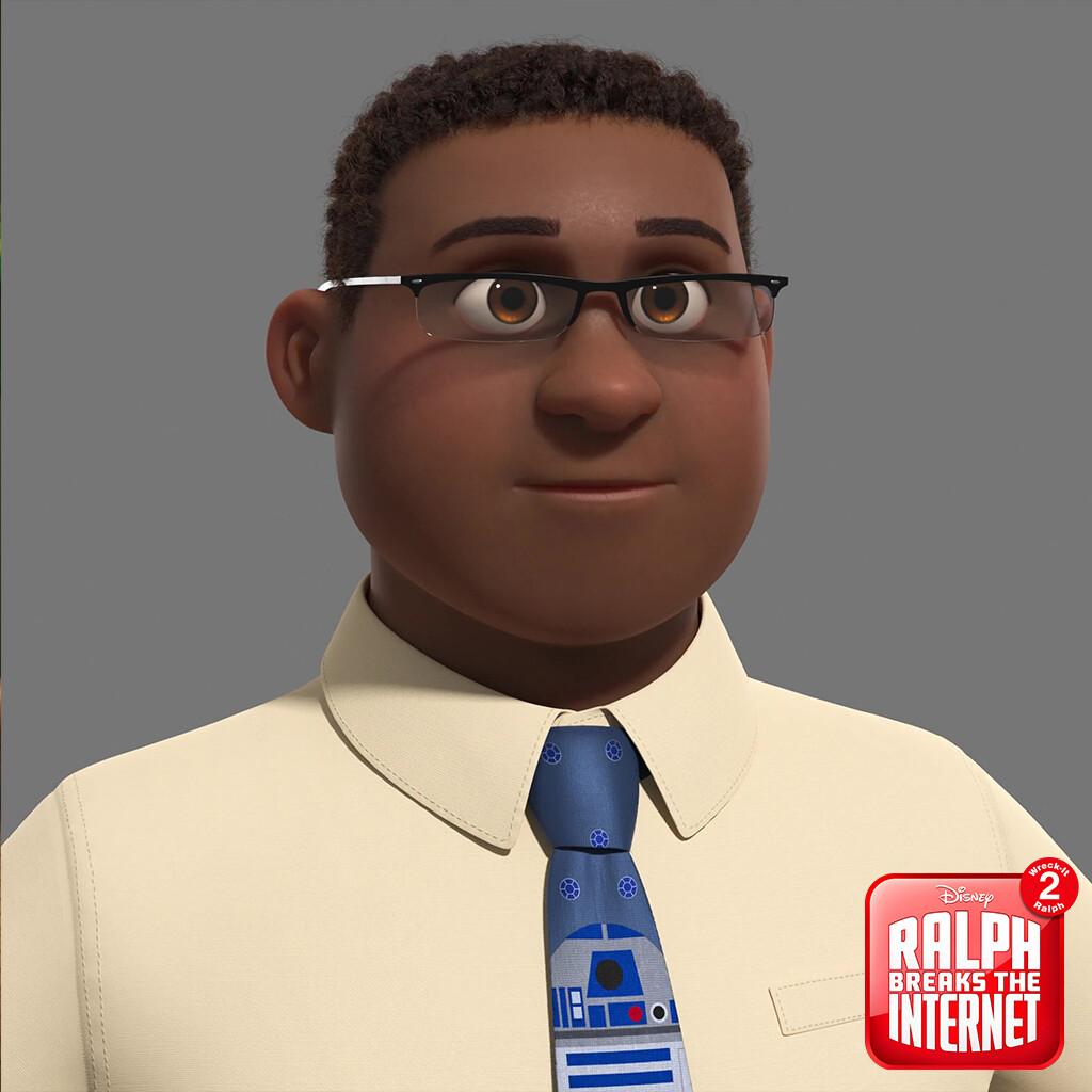 R2D2 Office Dude