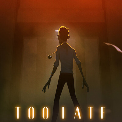 "Key Art for Animated Short Film ""Too Late"" (2020) - Part 2"