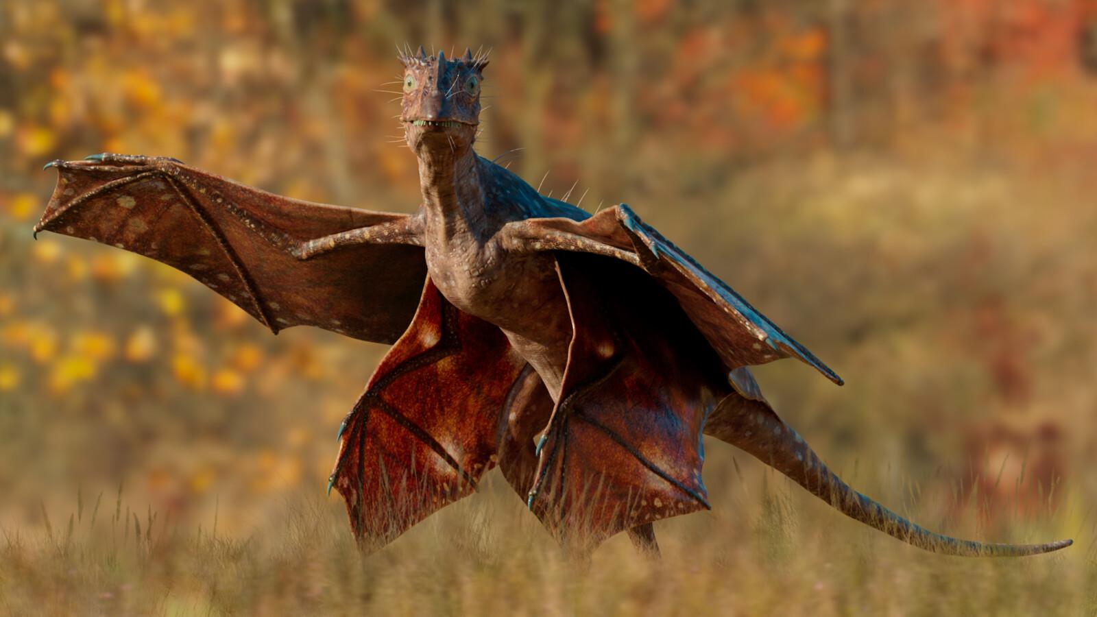 "Monarch Dragon ""Tetradracopteryx arboreum"""