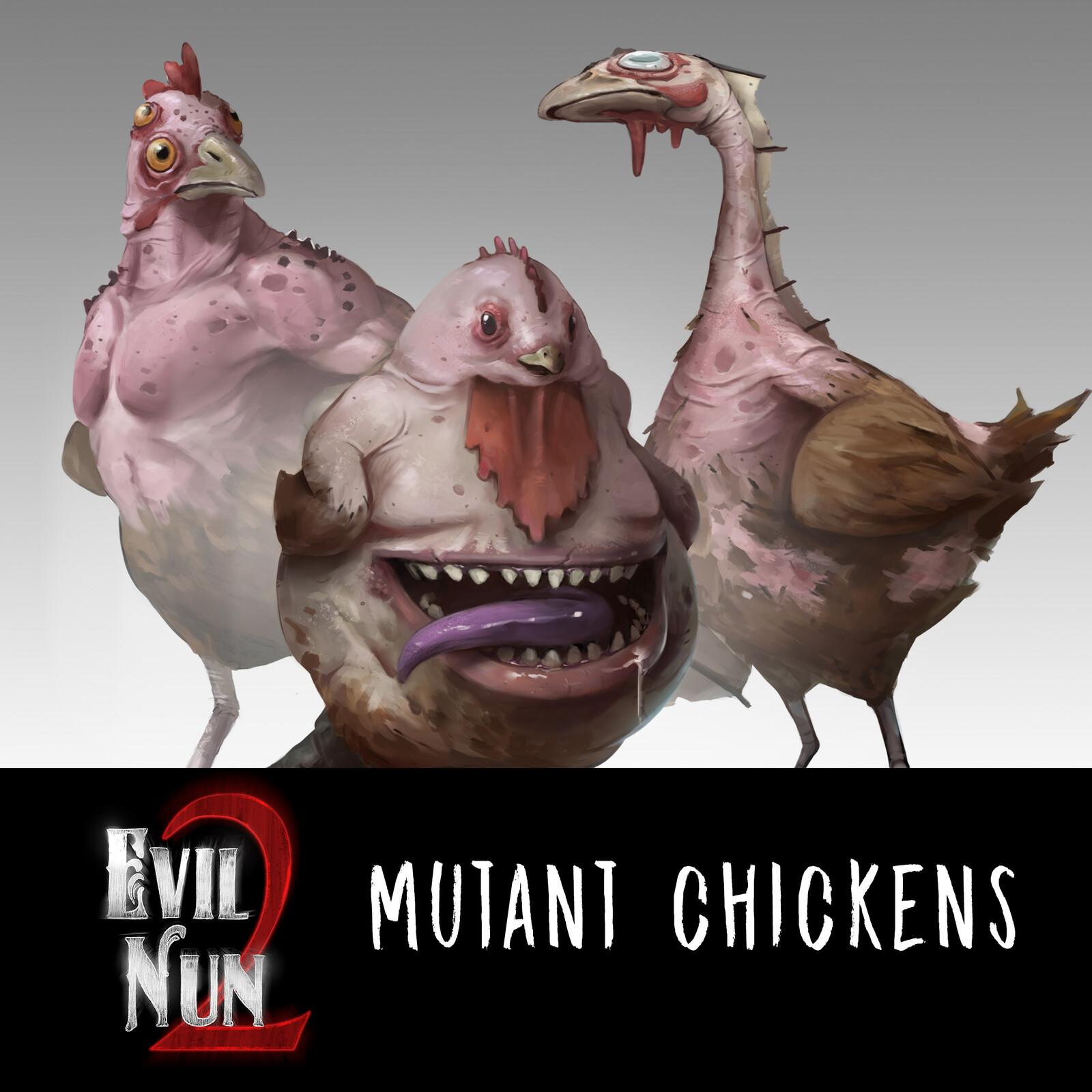 Mutant chickens