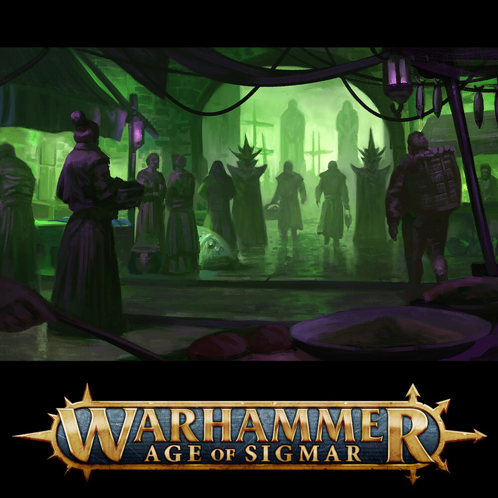 Warhammer - Shadows in the mist - The Shadow Markets