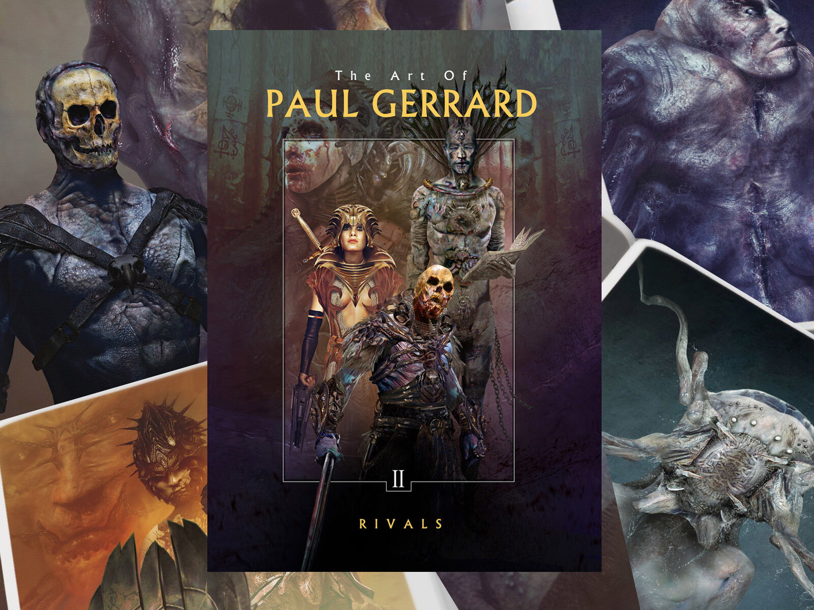 BOOKS : ART OF GERRARD II