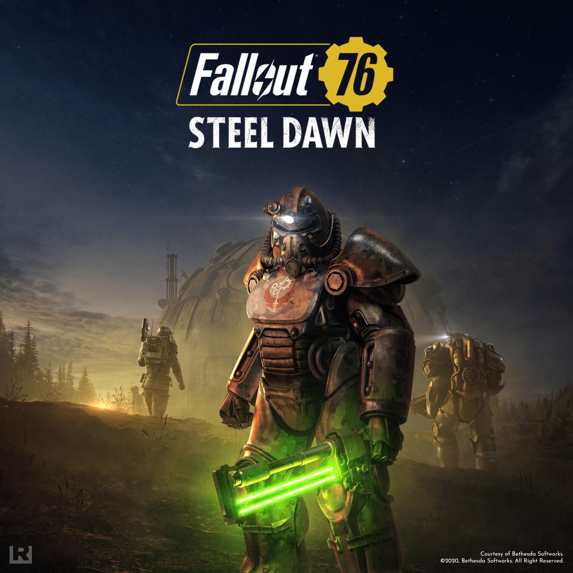Artstation Fallout 76 Steel Dawn Jessy Bergeron
