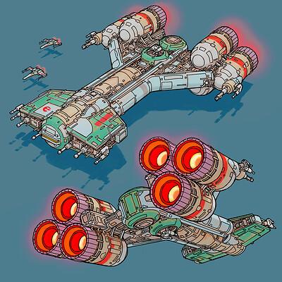 Space gooose space gooose rebel fleet f thumbnail