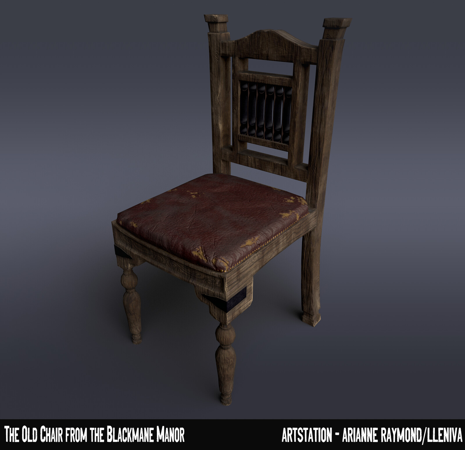 The Old Chair from the Blackmane Manor