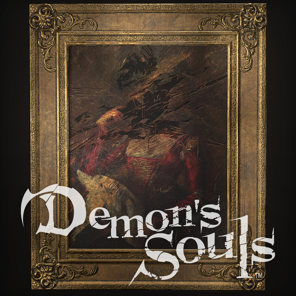 Demon's Souls Regal Frame