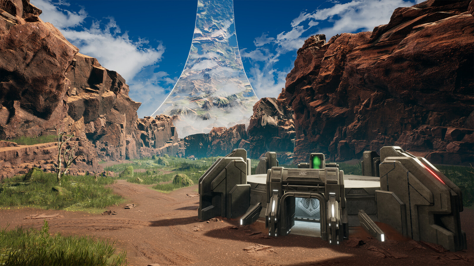 Halo: Recreation Project - Blood Gulch (UE4) WIP