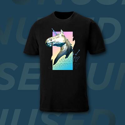 Alex illustration alex illustration commission unicorn t shirt design mockup unused 2