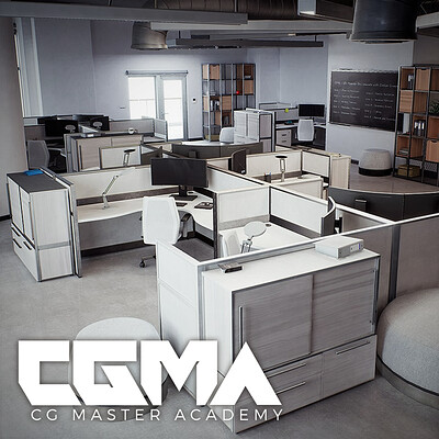 CGMA Studio Offices (UE4)
