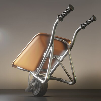 Dennis haupt 3dhaupt dennis haupt 3dhaupt wheelbarrow 1 rigged version high poly modeled rigged and animated by 3dhaupt in blender 2 90 1 8