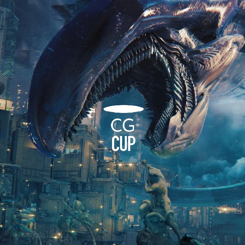 CGCup deep sea scene
