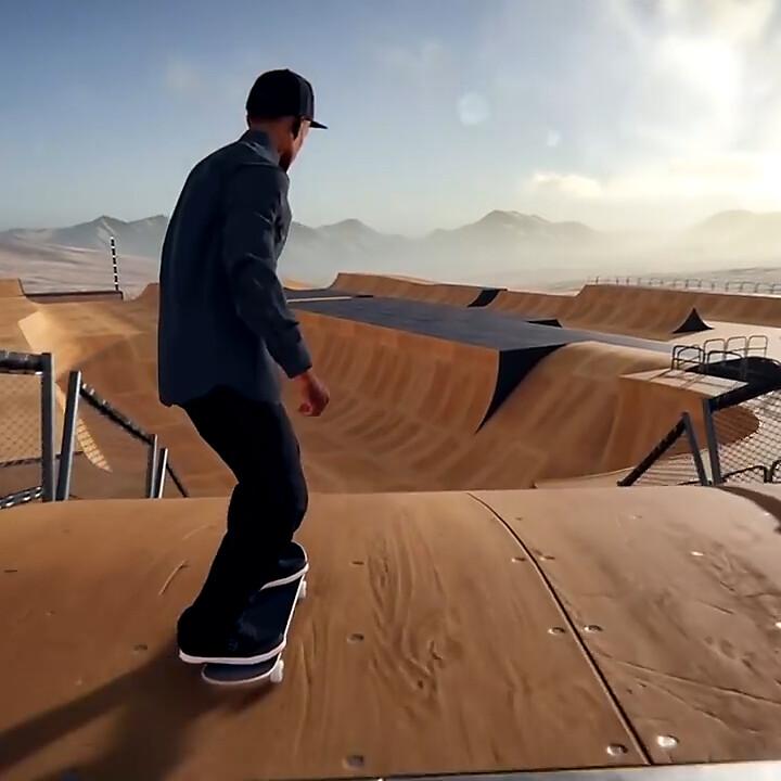 SkaterXL Mega Ramp