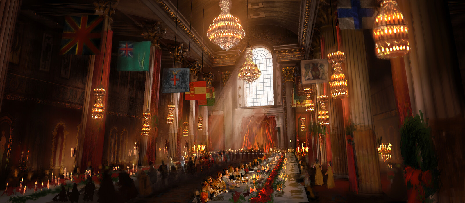 "A Christmas Carol ""Mayors Banquet Hall"" - while at Image Movers Digital"