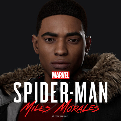 Miles Morales: Hair and Fur