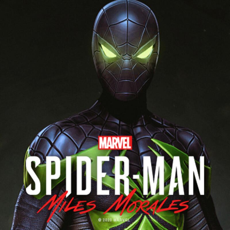 Miles Morales Purple Reign Suit - Concept