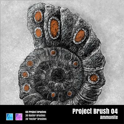 Stuart ruecroft stuart ruecroft project brush 04 ammonite 0 3x