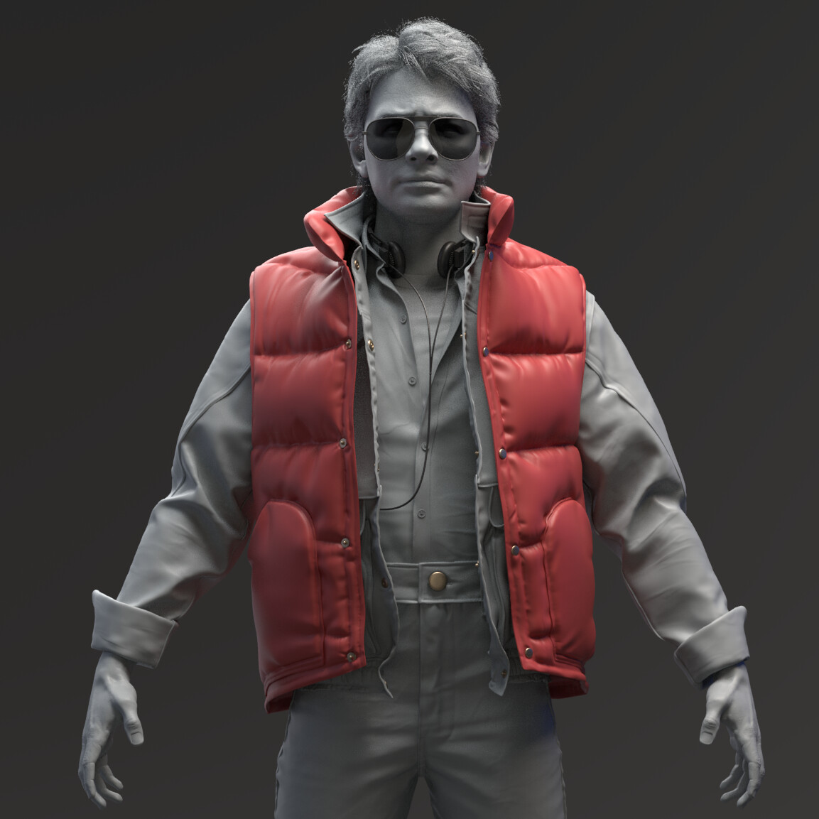 Marty McFly - Sculpt