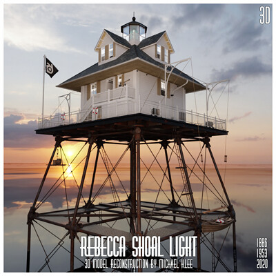 Michael klee michael klee rebecca shoal light house reconstruction by michael klee 2020 3
