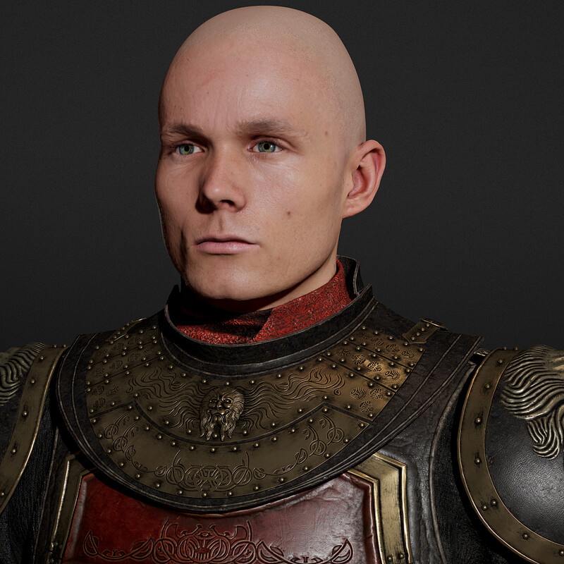Lannister Regiment Armour (WIP) - Game of Thrones Fanart