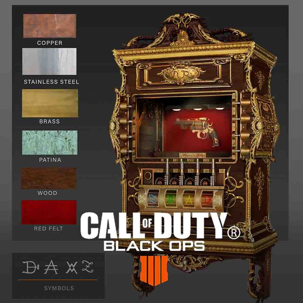 Call of Duty: Black Ops 4 - Prop Designs