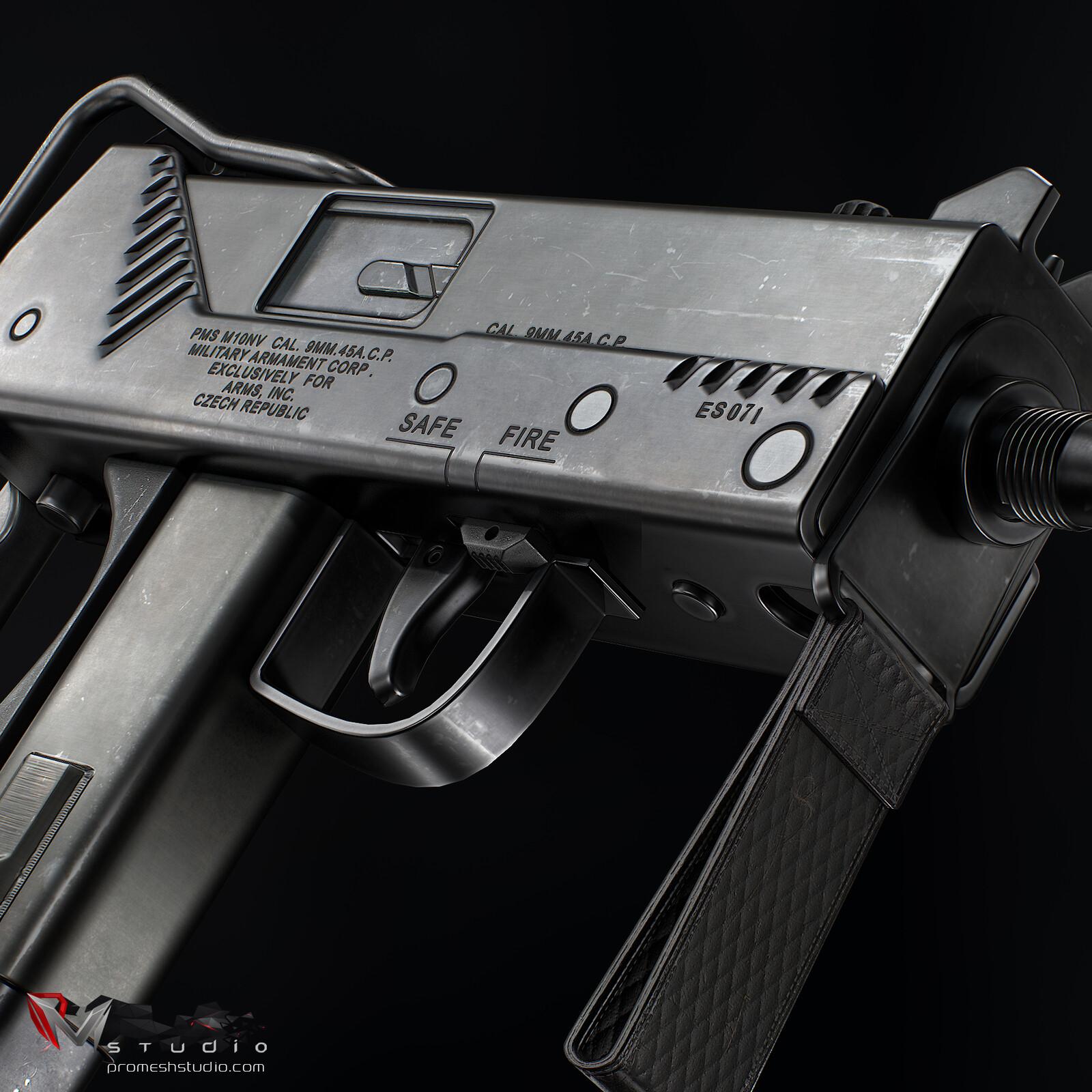 PMS MAC-10 SMG V2