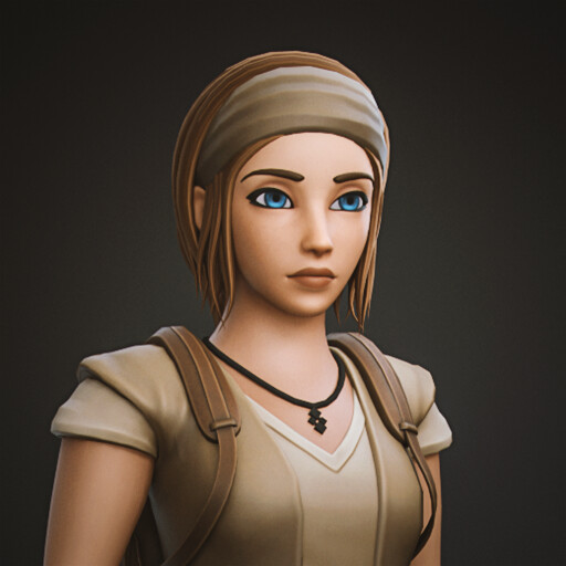 Kaia - Stylized Game Character