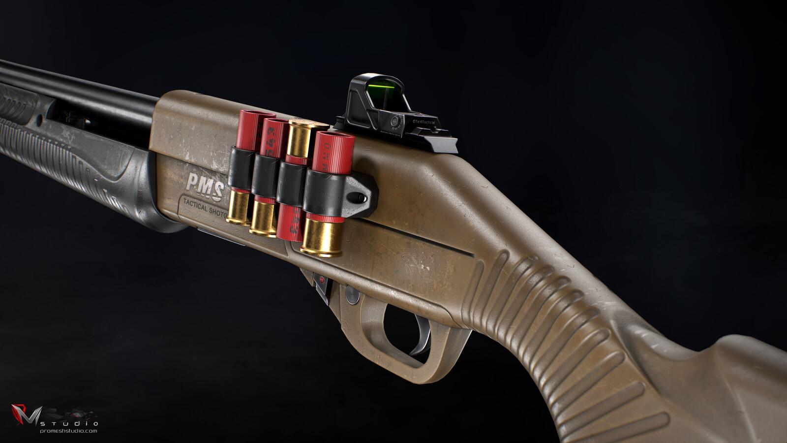 PMS M12 Shotgun V2