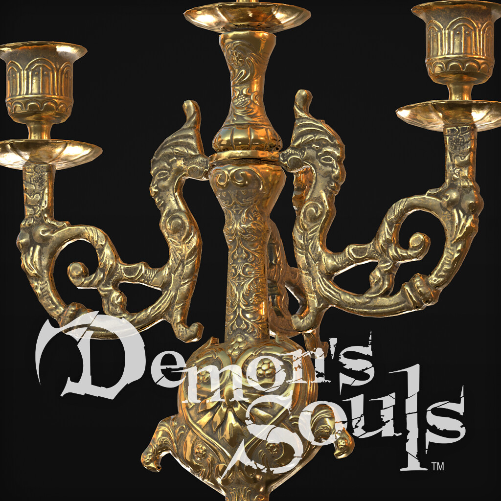 Demon's Souls Candle Holder