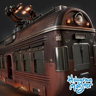 Hologram monster studio hologram monster studio monorail car thumb