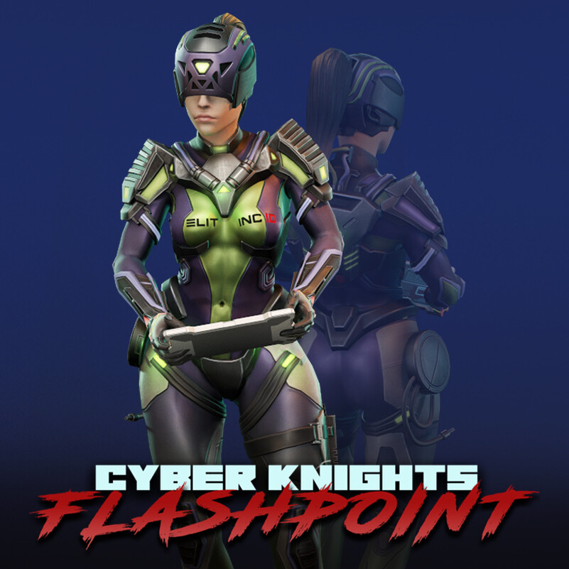 Cyber Knights: Flashpoint 3D Characters (#5)