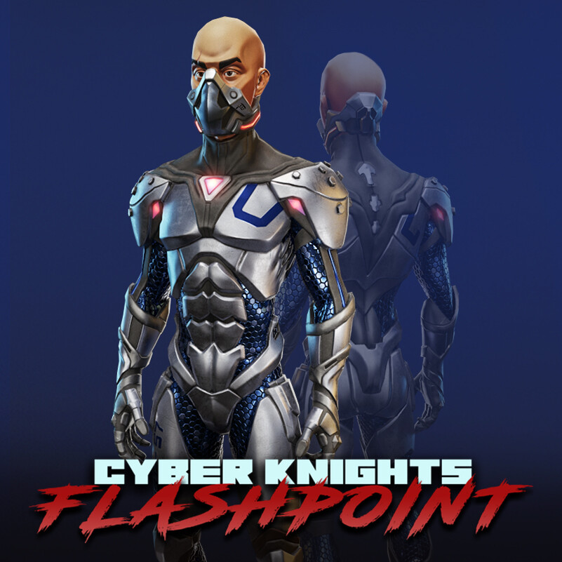 Cyber Knights: Flashpoint 3D Characters (#4)