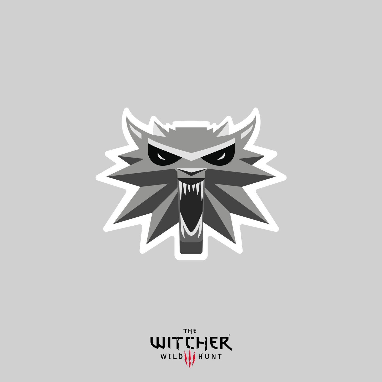 CD Projekt Red - The Witcher 3 medallions - Discord emojis